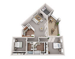 Hill Rock Magnolia Floor Plan